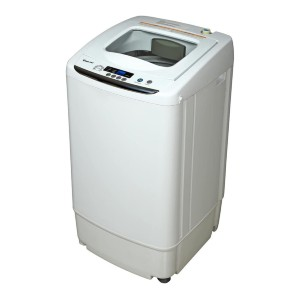 Magic Chef White MCSTCW09W1 0.9 cu. ft. Compact Washer - Best Washers for Cloth Diapers: Excellent auto-balance detection
