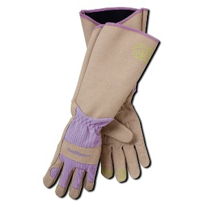 Magid Glove & Safety Pruning Thorn Resistant Gardening Gloves - Best Gardening Gloves for Women: Elbow-Length Gauntlet Cuff Protects Forearms