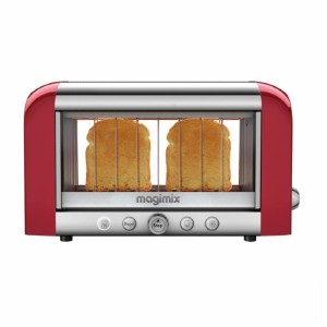 Magimix by Robot-Coupe Vision 2-Slice Toaster - Best Toaster Long Slot: Elegant Toaster with Glass Window
