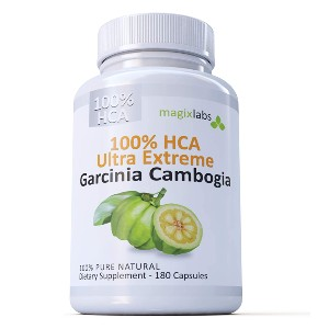 MagixLabs 100% HCA Ultra Extreme Garcinia Cambogia Extract - Best Appetite Suppressants on Amazon: Safe Cambogia Extract Supplement