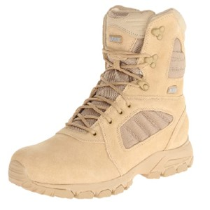 Magnum Men's Response III 8.0 Side-Zip Slip Resistant Work Boot - Best Safety Shoes for Plantar Fasciitis: Durable Work Shoes
