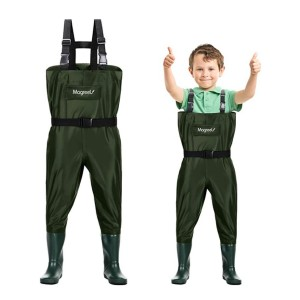 Magreel Kids Chest Waders - Best Saltwater Waders: Great for kids