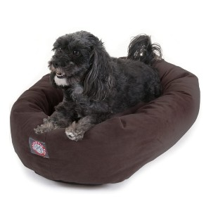 Majestic Pet Suede Dog Bed - Best Dog Beds for Puppies: Super Premium Bed Material
