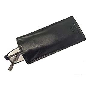 Mala Leather Slip in Glasses Sleeve Case - Best Glasses Cases: Slim and handy