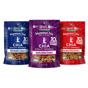 Mamma Chia Chia Granola Clusters - Best Healthy Snack: Healthier and tastier