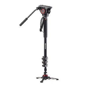 Manfrotto XPRO Aluminum Video Monopod - Best Monopods for Wedding Photography: Sturdy Video Monopod