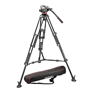 Manfrotto MVH502A,546BK-1 Professional - Best Tripods for Video Camera: For professionals