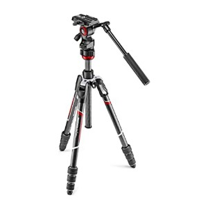 Manfrotto MVKBFRTC-LIVEUS Befree Live Video Tripod - Best Tripods for Video Camera: Perfect for travel