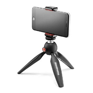 Manfrotto PIXI Mini Tripod Kit - Best Portable Tripods for Smartphone: A tripod or grip? Both
