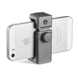 Manfrotto TwistGrip Universal Smartphone Clamp - Best Tripods for Smartphone: Fits numerous accessories