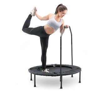 Marcy Trampoline Cardio Trainer with Handle ASG-40  - Best Trampoline for Exercise: Wide range of exercises