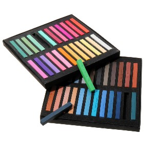 Banggood Marie's Color Chalk - Best Chalk for Chalkboard: Rich in Color and Highly Lightfast, Easily Blended