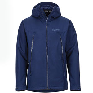 Marmot Store Solaris Jacket - Best Raincoats for Cold Weather: Adjustable draw cords hood