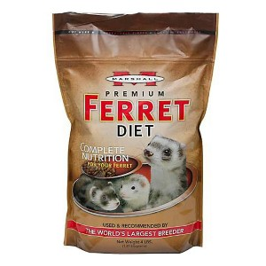 Marshall Premium Ferret Diet Food - Best Ferret Food for Smell: Health Support Composition