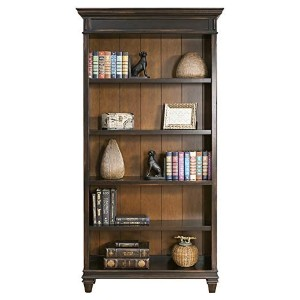 Martin Furniture Hartford Bookcase - Best Solid Wood Bookcases: Retro Finish and Classic Style