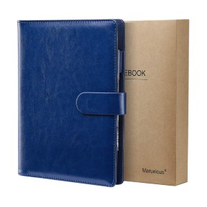 Maruelous Ruled Notebook A5 - Best Notebooks for College:  Refillable and Business Design