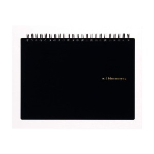 Maruman MNEMOSYNE Notebook - Best Notebooks for College: Double Wire Binding with Perforated Pages