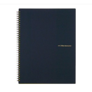 Maruman  Mnemosyne N199 Special Memo Notebook - Best Notebooks for College: Stylish and Durable Black PP Plastic Cover