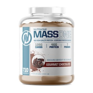 NutraOne MassOne - Best Mass Gainer for Women: Increase Mass Size with 720 Calories