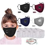 10 Reviews: Best Masks for Kids (Oct  2020): Cotton Mask with Breathing Valve and Replaceable Filters Haze