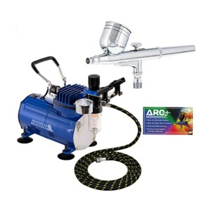 Master Airbrush ECO-17  - Best Air Compressors for the Money: Perfect for your art