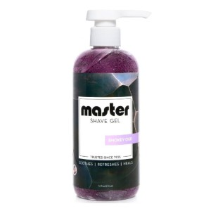 Master Shave Gel  - Best Shaving Gel for Barbers: Luxuriously Smokey and Resinous