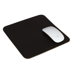 Design Milk Mausu Mouse Pad Square Leather/Felt - Best Mouse Pad for Magic Mouse: Luxury Grade Merino Wool Felt