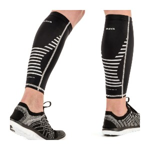 Mava Sports Calf Sleeves Compression - Best Leg Compression Sleeves: Comfortable, Moisture-Wicking and Breathable Design