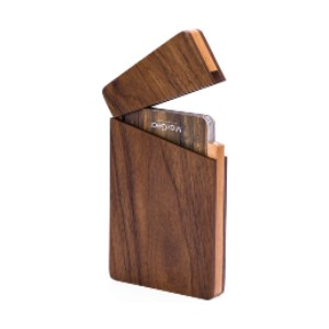MaxGear Business Card Holder Wood - Best Business Card Holders: Fashionable and Practical