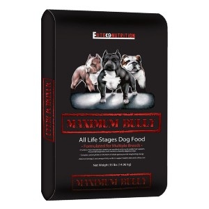 Maximum Bully Elite K9 Nutrition Chicken And Pork Dog Food - Best Dog Foods to Gain Weight: Healthy Digestive System