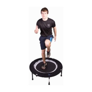 MXL MaXimus Life Bounce & Burn Foldable Indoor Mini Trampoline - Best Trampoline for Teenagers: No assembly required