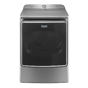 Maytag MEDB955FC Electric Dryer Chrome - Best Dryers with Steam: Best large capacity