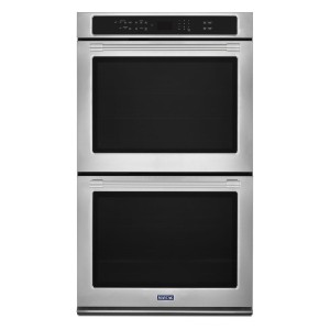 Maytag MEW9630FZ 30 Inch Electric Double Wall Oven  - Best Double Wall Oven Electric: Fingerprint-resistant
