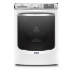 Maytag MHW8630HW Smart Front Load Washer - Best Washers for Large Families: Keeps clothes smelling fresh
