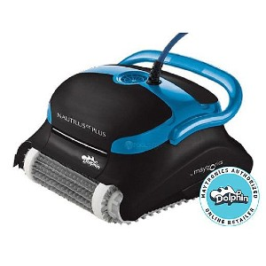 Maytronics Dolphin Nautilus CC Plus Inground Robotic Pool Cleaner with CleverClean  - Best Robotic Inground Pool Cleaners:  CleverClean Technology