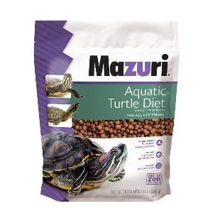 Mazuri Aquatic Turtle Diet - Best Turtle Food for Red-Eared Slider: Rich in Vitamins and Minerals