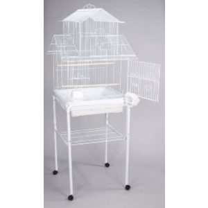 Mcage Large Canary Bird Cage - Best Bird Cage for Canary: Like a Barbie house