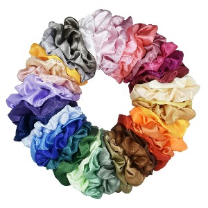 Mcupper Hair Silk Scrunchies  - Best Scrunchies for Sleeping: Durable and Strecthable