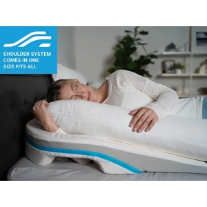 MedCline Shoulder Relief Wedge and Body Pillow System - Best Pillow After Shoulder Surgery: Flexible Pillow