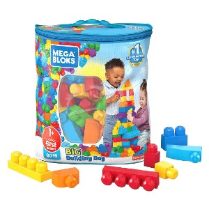 Mega Bloks First Builders Big Building Bag  - Best Educational Toys for 1-2 Year Olds: Built with those tiny hands in mind
