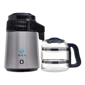 Megahome Countertop Water Distiller Stainless - Best Water Filter Countertop: It turns off automatically