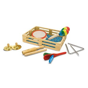 Melissa & Doug Band in a Box - Best Musical Toys for Babies: Be a little musician