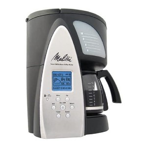 Melitta Smart Mill & Brew 10-Cup Programmable Coffeemaker - Best Grinder and Coffee Maker: 7 Grind Selections Feature