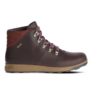 Chaco Men's Frontier Waterproof - Best Boots for Men: Suede Padded Collar for Added Comfort