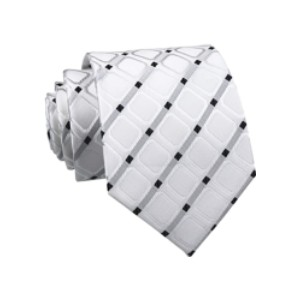 Kihatwin Men's Gingham Check Stripe Ties  - Best Ties for Lawyers: Low price, high quality