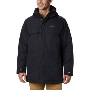 Columbia Men's Rugged Path Parka - Best Rain Jackets for Alaska: 200g Insulation and Multifuntional Pockets