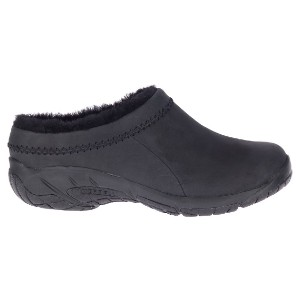 MERRELL Women's Encore Ice 4 Leather - Best Slip-On Winter Shoes: Cushioned Soles Slip-On