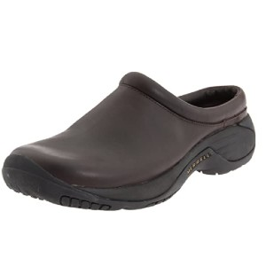 MERRELL Men's Encore Gust Slip-On Shoe - Best Kitchen Shoes for Chefs: Durable Leather Shoes