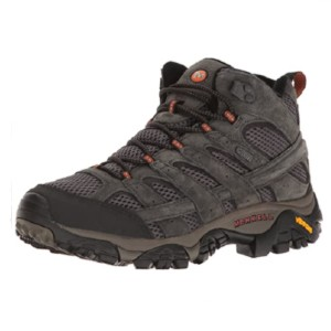 MERRELL Men's Moab 2 Mid  - Best Lightweight Walking Boots: Synthetic Sole Boot