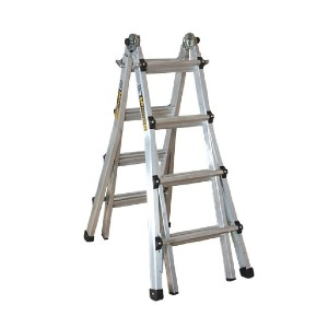 METALTECH E-MTL7100AL - Best Ladders for Stairs: Designed for Outdoor and Indoor Use